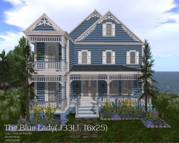 The Blue Lady( 133LI, 16x25)