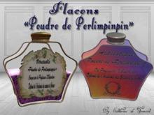 """""""CdT"""" Flacons Poudre de Perlimpinpin"""
