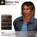 A&A Norman Hair Brown Colors Pack. Mens long mesh hairstyle