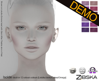 Zibska ~ Isolde Blush Demo [Lelutka, Catwa & Omega appliers]
