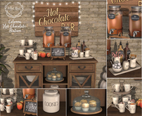 {what next} Colonna Hot Chocolate Station - Full Set (boxed)