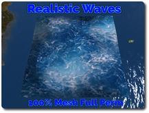 Ocean Waves 100%Mesh Full Perm