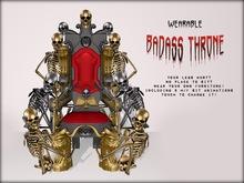 Boudoir Halloween-Wearable Badass Throne