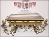 Boudoir Halloween-Wearable Rococo Glass Coffin