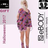 .: MB :. Halloween 2017 Gift  Chiffon Dress ~ eBody Model