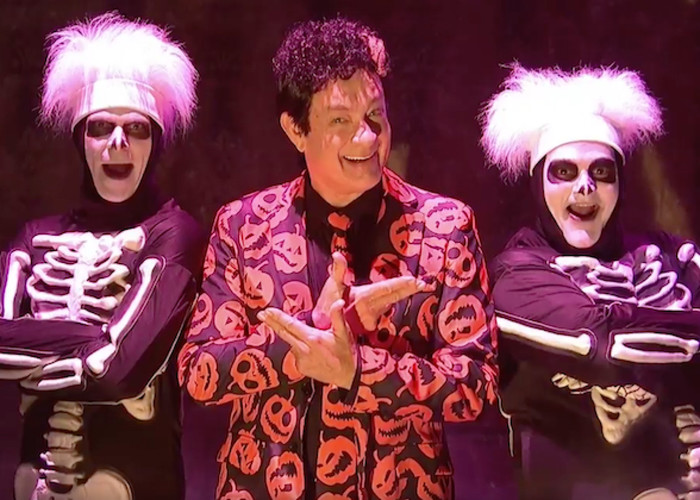 RU - David S. Pumpkins Costume DEMO