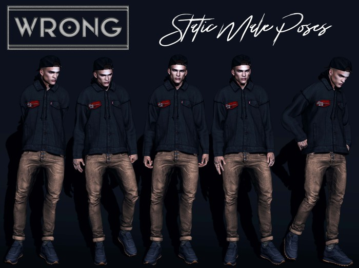 WRONG - Static Male Poses 4