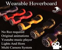 **MH** Wearable Hoverboard