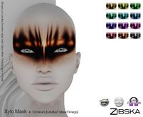 Zibska [50L Closeout] ~ Xylo Mask in 12 colors [Lelutka, Catwa, Omega]