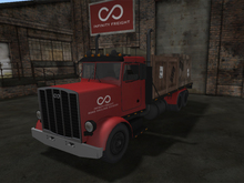 Infinity Freight Flatbed Truck v1.25