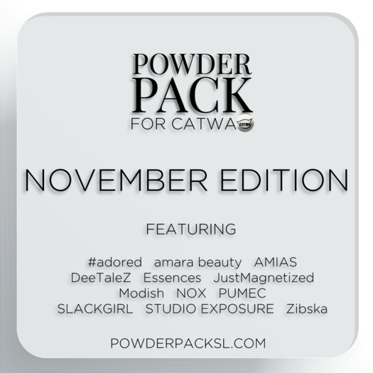 Powder Pack for Catwa November Edition