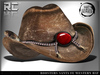 Roosters (The Santa Fe) Western Hat