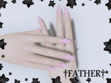 +FATHER+ - Maitreya Pink Goop Nails