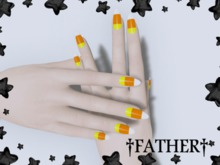 +FATHER+ - Maitreya Candycorn Nails