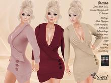 Sweet :: Briana Dress - Maitreya, Slink (P, H), Venus, Isis, Freya, Tonic (C, F), #TMP, eBody. 20 T