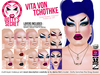 Dotty's Secret - Vita Von Tchothke - Drag Queen Make-up Set