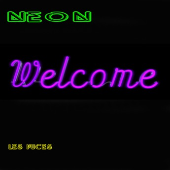 [Les Puces] Welcome Neon Purple