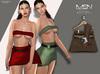 [MSN Design] Suki Outfit [BROWN-LBROWN]