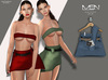 [MSN Design] Suki Outfit [LBLUE]