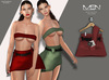 [MSN Design] Suki Outfit [SALMON]