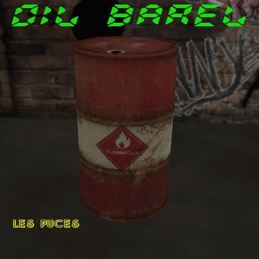 [Les Puces] Oil Barel
