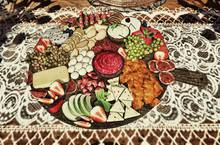 Aphrodite Aphrodite Harvest Dining cheeses & fruits board
