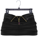 adorsy - Akali Mesh Leather Skirt Black - Maitreya