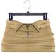 adorsy - Akali Mesh Leather Skirt Beige - Maitreya
