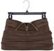 adorsy - Akali Mesh Leather Skirt Brown - Maitreya