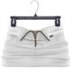 adorsy - Akali Mesh Leather Skirt White - Maitreya