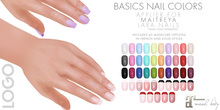 LOGO Basics Collection Maitreya Nails Applier