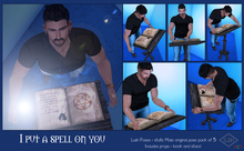 LUSH POSES - I Put a Spell on YOU - Male Poses