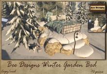 .:Bee Designs:.Winter Garden Bed  PG