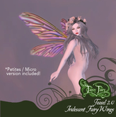 Fancy Fairy Teasel 2.0 Iridescent Fairy Wings