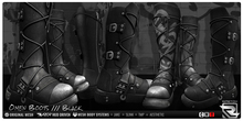 Razor/// Omen Boots - Black