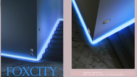 FOXCITY. Photo Booth - A Fool's Paradise (Blue version)