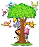 Kids Wall Decor - Jungle Hide