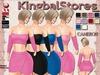 KS OUTFIT CAMERON TOP&SKIRT FAT-PACK (Customizable)