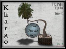 Khargo: Tiki Palm Tip Jar / Tipjar