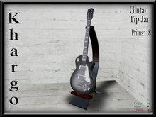 Khargo: Guitar Tip Jar / Tipjar