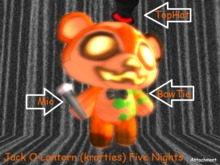 *MF* Jack O Lantern (Five Nights) Krafties
