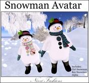 Nixxi Fashions - Snowman Avatar