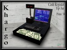 Khargo: Cash Register Tip Jar / Tipjar