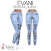 EVANI- Bianka jeans [Blue]