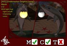 [AD] [Underwater Dolphin Lamp]
