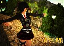 [ ANCAYI ] School Girl Rock