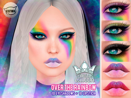 ::White Queen :: OVER THE RAINBOW - catwa