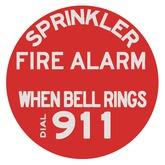 Sign - Sprinkler Fire Alarm