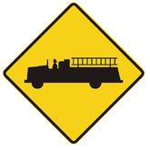Sign - Fire Truck