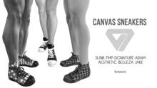ILLI - [SLink,Signature Gianni,Belleza Jake,Aesthetic,TMP,Adam] Jake Canvas Sneakers DEMO